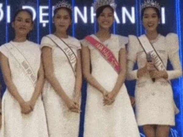 Hoa hậu Việt Nam và 2 Á hậu lộ nhan sắc thật qua camera thường, nhìn đôi chân mà choáng