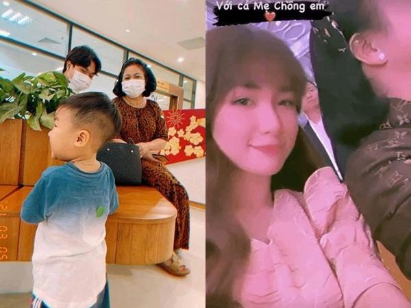 Hòa Minzy lần đầu xuất hiện cạnh mẹ chồng quyền lực, chỉ một chi tiết chứng tỏ được 'cưng như trứng'