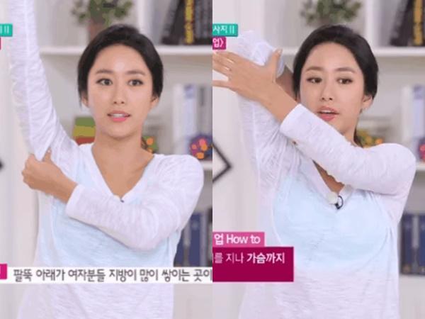 Jeon Hye Bin bật mí bí quyết giúp tăng size ngực từ cup A lên cup B chỉ với 4 động tác đơn giản bất ngờ