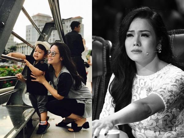 Không ngừng suy sụp sau ly hôn, Nhật Kim Anh tiếp tục khóc hết nước mắt vì nhớ con