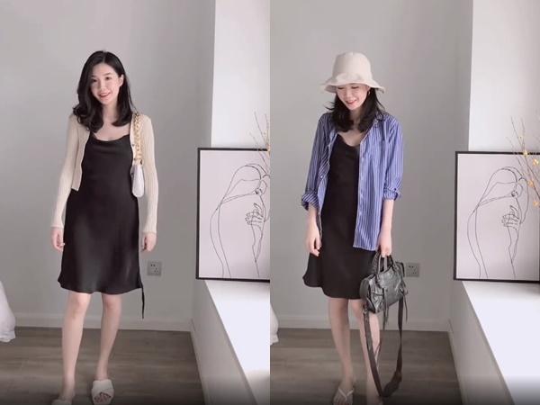 Không tin chỉ 1 chiếc váy đen mà mặc được từ đi làm tới đi chơi, nàng công sở ra tay chứng minh với 11 set đồ bắt mắt