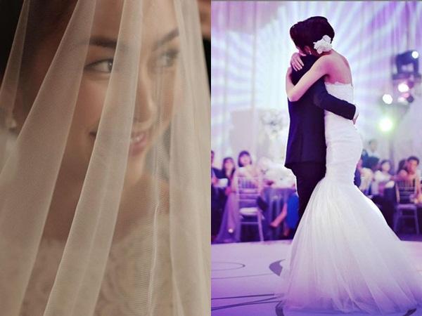 Kỷ niệm 7 năm bên nhau, Tăng Thanh Hà bất ngờ khoe ảnh cưới hiếm hoi trên trang cá nhân