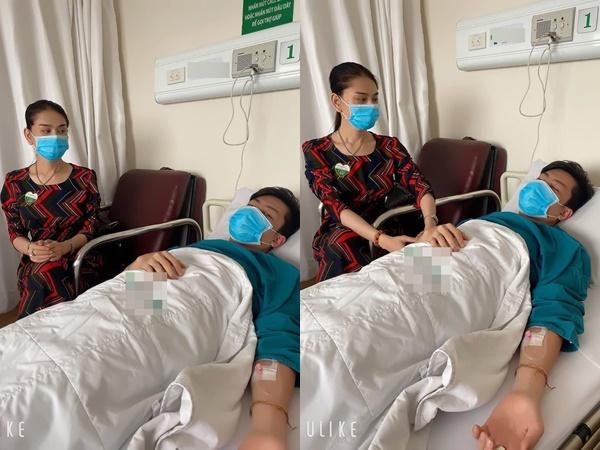 Lâm Khánh Chi đăng ảnh ông xã nhập viện phẫu thuật khiến người hâm mộ lo lắng