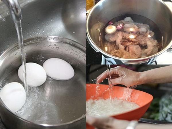 Làm nguội trứng bằng nước lạnh cùng loạt sai lầm khi nấu nướng hầu hết chị em đều mắc phải