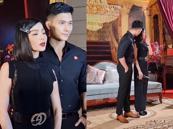 Lệ Quyên và Lâm Bảo Châu tình tứ trên thảm đỏ, chàng chẳng ngại ôm eo nàng khiến dân tình 'đứng ngồi không yên'