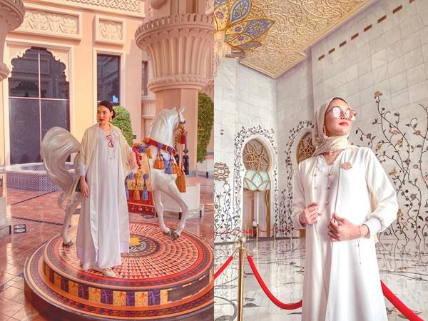 Loạt ảnh cực sang chảnh của Lan Khuê và chồng đại gia tại Dubai: Dân mạng thi nhau gọi cô là 'bà bầu đẹp nhất Vbiz'