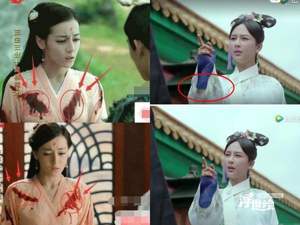 """Loạt sạn ngớ ngẩn phim Hoa ngữ khiến diễn viên ngượng chín mặt: Nhọ nhất là Dương Tử bị ekip cho mặc đồ """"thiếu vải"""""""