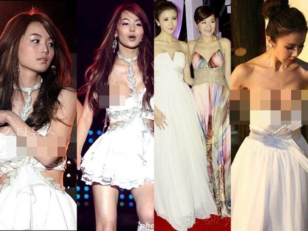 """Loạt sự cố trang phục """"sốc tận óc"""" của các mỹ nhân châu Á, xem mà vừa ngượng vừa thương cho các nàng"""