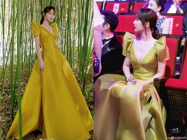 Lộng lẫy dự sự kiện, Dương Tử để lộ chi tiết nhạy cảm vì chiếc váy phản chủ, gây hiểu lầm chết người