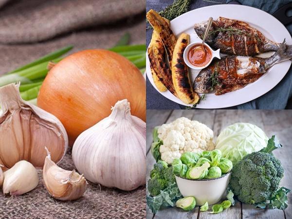 Muốn cơ thể không bốc mùi khó ngửi khi đi chơi Tết thì nên lưu ý hạn chế nạp các loại thực phẩm này