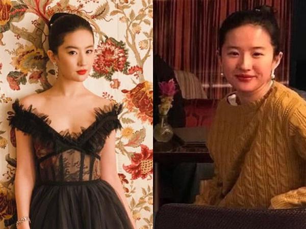 Netizen xứ Trung choáng trước nhan sắc thật của 'thần tiên tỷ tỷ' Lưu Diệc Phi khi không có phần mềm chỉnh ảnh