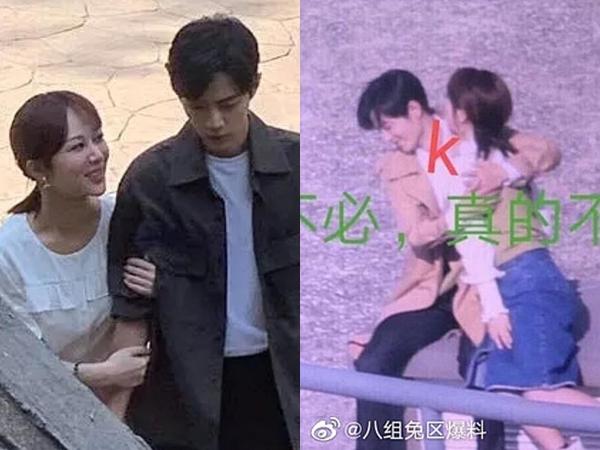 Netizen xứ Trung 'dậy sóng' trước hình ảnh Dương Tử cưỡng hôn mỹ nam 'Trần Tình Lệnh' Tiêu Chiến