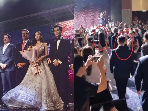Netizen xứ Trung xem màn đỡ váy cho Angela Baby của Huỳnh Hiểu Minh là vở kịch, soi ra chi tiết bất ngờ trong sự kiện