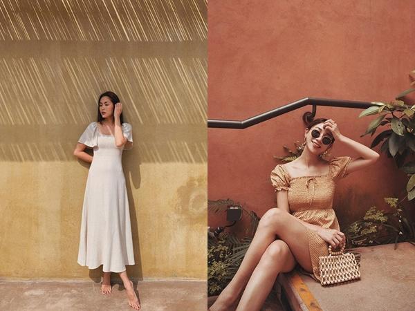 Ngắm Hà Tăng và Miranda Kerr xinh lịm tim trong mẫu váy này, bạn sẽ muốn bổ sung thêm vài chiếc cho tủ đồ thu