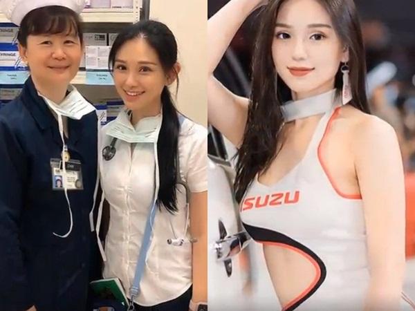 Ngắm vẻ nóng bỏng của nữ bác sĩ thực tập xinh đẹp, đằng sau lớp áo blouse là body cực bốc lửa