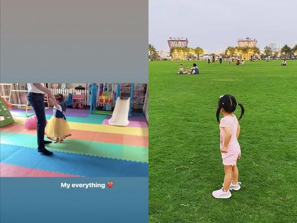 Ngày càng chăm chỉ khoe con, Hà Tăng tiếp tục khiến dân mạng bấn loạn khi đăng tải clip con gái khiêu vũ cực đáng yêu