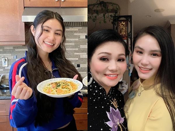 Ngỡ ngàng trước vẻ xinh đẹp của con gái nữ nghệ sĩ cải lương Ngọc Huyền ở tuổi 16