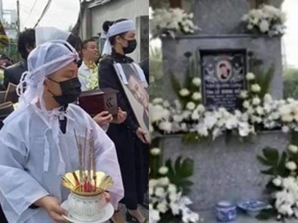 Những hình ảnh đầu tiên tại lễ an táng của cố NS Vân Quang Long tại quê nhà Đồng Tháp