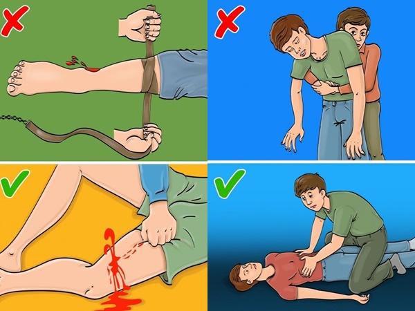 Những mẹo cấp cứu nếu thực hiện sai sẽ thành hại người