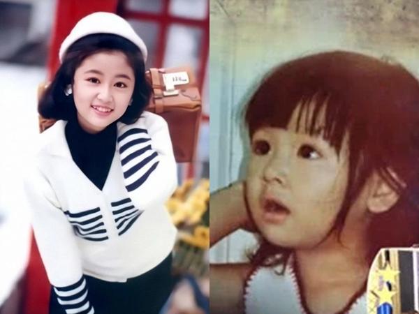 Những tấm hình hiếm hoi chưa từng tiết lộ của Lâm Tâm Như, nhan sắc mỹ nhân từ bé khiến ai nấy đều trầm trồ