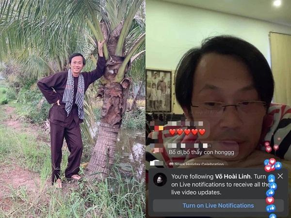 """NS Hoài Linh livestream """"phá đảo"""" MXH: 2 phút chỉ """"Hello cả nhà"""" mà 18 nghìn người phải vào xem gấp"""