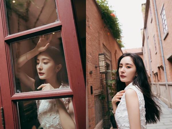 Nửa năm sau ly hôn, Dương Mịch ngày càng thăng hạng nhan sắc, loạt ảnh mới tiếp tục khiến netizen xứ Trung điên đảo