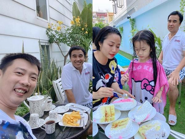 Ốc Thanh Vân hài hước kể chuyện cả nhà 'trùm kín mít' qua chơi nhà Quyền Linh, tiết lộ 'gia tài khủng' của nam MC