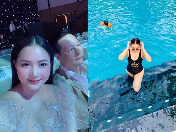 Phát tướng sau sinh, Phan Như Thảo vẫn tự tin khoe dáng với bikini nhờ điều này