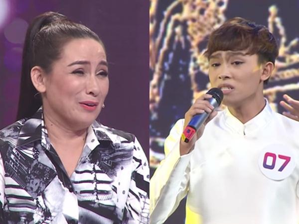 Phi Nhung bất ngờ 'dạy dỗ' con trai nuôi Hồ Văn Cường ngay trên sóng truyền hình: 'Đừng bao giờ lặp lại một lần nào như vậy'
