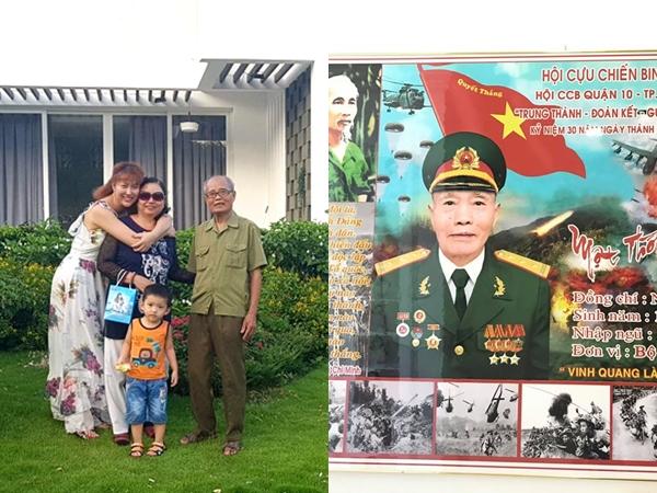 Phi Thanh Vân đau buồn báo tin bố qua đời: 'Nếu kiếp sau được làm người con xin lại được làm con gái của bố!'