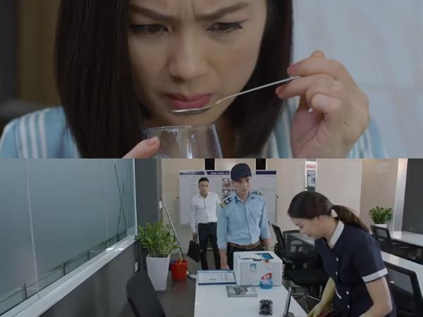 Preview 'Hoa hồng trên ngực trái' tập 14: San bị mẹ chồng hạ độc, Khuê bất ngờ gặp Bảo tại chỗ làm mới