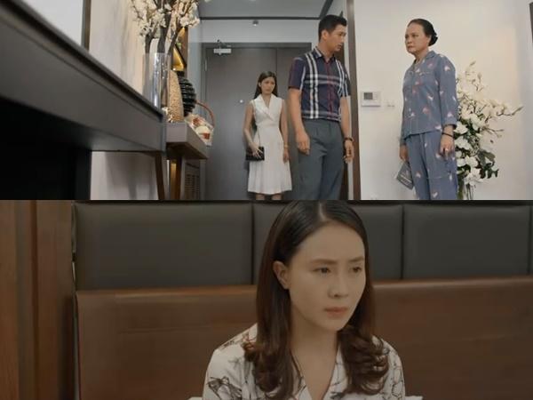 Preview 'Hoa hồng trên ngực trái' tập 18: Thái ngang nhiên dắt nhân tình về nhà, đòi giành quyền nuôi con với Khuê