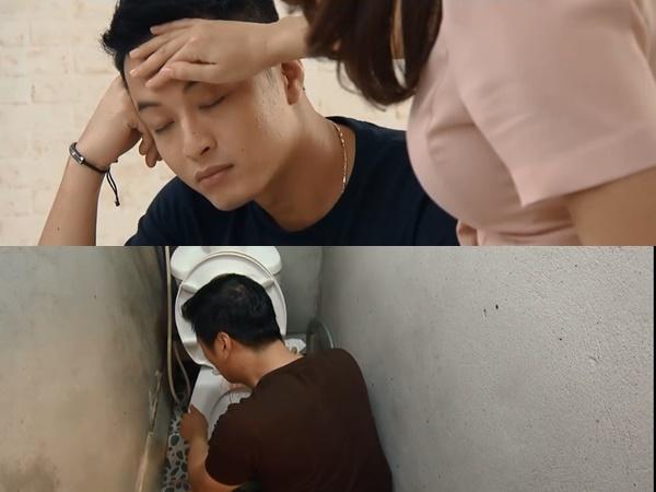 Preview 'Hoa hồng trên ngực trái' tập 40: San chính thức nhận Khuê làm chị dâu, Thái lâm bệnh nặng, liên tục ói ra máu