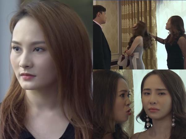 Preview 'Về nhà đi con' tập 68: Nhã trơ trẽn nhắc về hợp đồng hôn nhân với Thư, Linh túm tóc dằn mặt 'tiểu tam' thay bạn thân