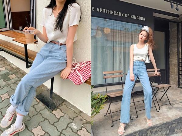 Quần jeans xanh sáng thống trị mùa hè và 14 tuyệt kỹ phối đồ chuẩn giúp bạn lên đời phong cách