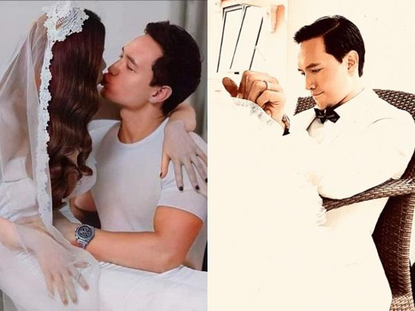 Rò rỉ hậu trường chụp ảnh cưới, Hà Hồ và Kim Lý liên tục ôm hôn khiến dân tình bấn loạn