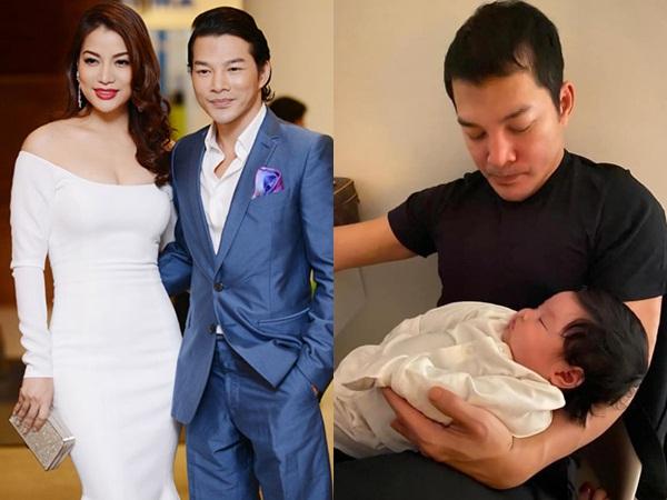 Rò rỉ hình ảnh con thứ 2 của Trần Bảo Sơn hậu ly hôn Trương Ngọc Ánh
