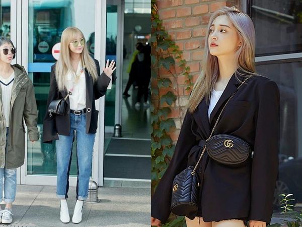 Sao Hàn mặc blazer: 5 công thức thường xuyên được sử dụng để diện thật trẻ trung chiếc áo đứng đắn này