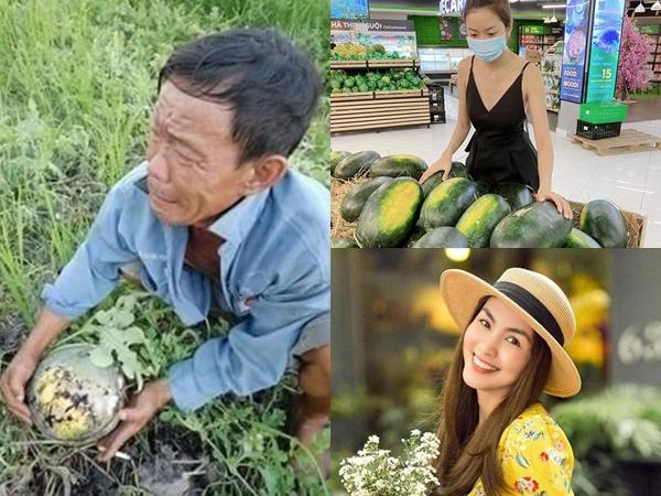 Sao Việt cùng nhau 'giải cứu' dưa hấu giúp nông dân, số lượng Hà Tăng mua ủng hộ gây choáng nhất
