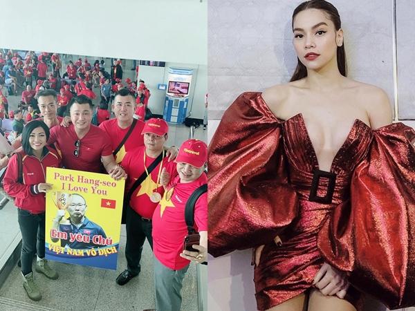 Sao Việt hào hứng trước chung kết bóng đá SEA Games 30: Phương Thanh, Lý Hùng sang Philippines cổ vũ, Hà Hồ dự đoán tỷ số