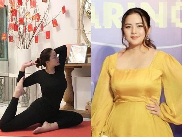 Sau hình ảnh chăm chỉ tập yoga gây bão, Phan Như Thảo tự tin khoe sự thay đổi sắc vóc chỉ trong một tháng
