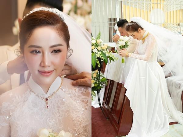 Sau đám cưới, Bảo Thy lần đầu chia sẻ về chồng đại gia, khẳng định kết hôn vì tình yêu đích thực