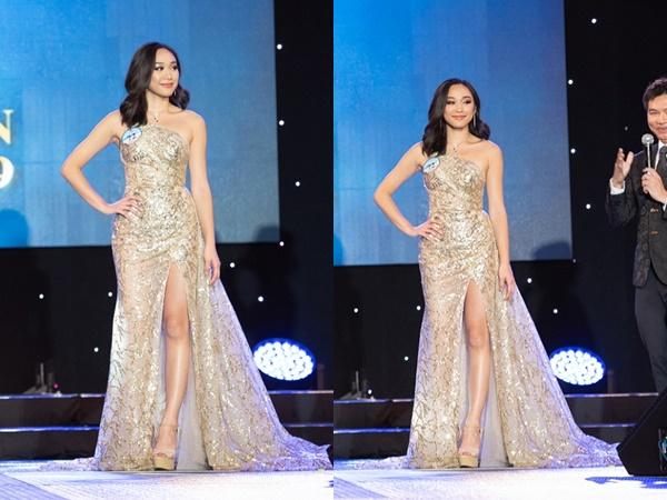 Sau Lê Âu Ngân Anh, mỹ nhân giành được ngôi vị Hoa hậu Đại dương 2019 bất ngờ gây chú ý về nhan sắc