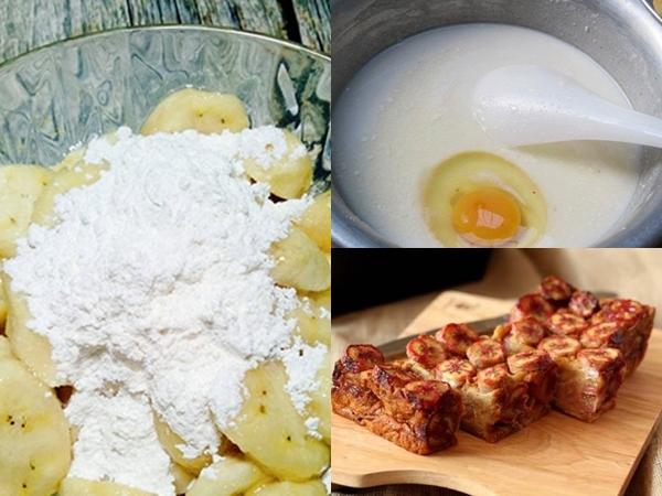 Tận dụng nồi cơm điện làm bánh chuối nướng thơm ngon cực đơn giản tại nhà