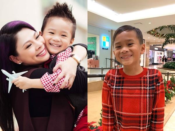 Thanh Thảo nghẹn đắng trước câu hỏi ngây ngô của con trai Ngô Kiến Huy: 'Ai là ba là mẹ của con vậy mẹ'