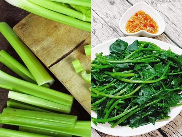 Thực đơn rau luộc giảm mỡ tối ưu: Bí đao, cần tây, bông cải xanh