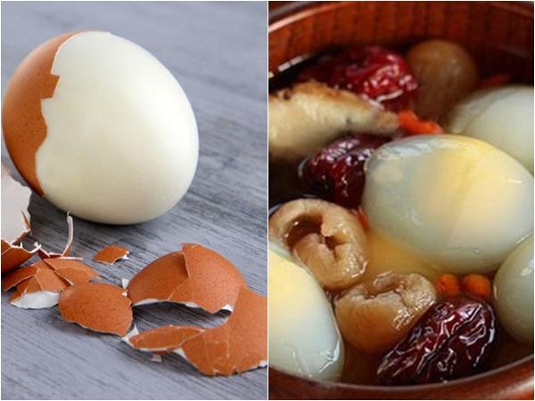 Thường xuyên ăn trứng gà luộc mà không biết đến những tác dụng chữa bệnh tuyệt vời này thì phí cả đời