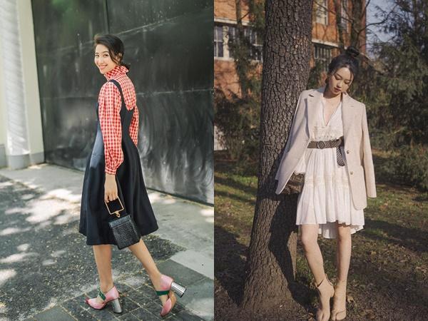 Tiết trời mát mẻ, bạn áp dụng 4 cách diện váy sau thì xinh xắn và tỏa sáng hơn cả nắng thu