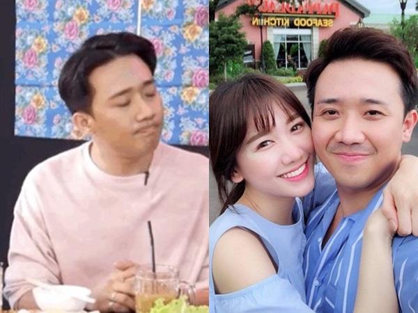 Trấn Thành công khai nhắc đến tình cũ trên sóng livestream, hé lộ luôn phản ứng của Hari Won