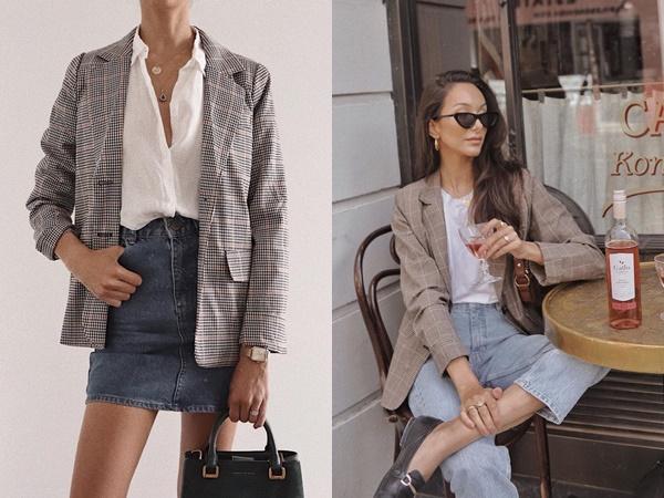 Trẻ hóa chiếc blazer quen thuộc bằng 5 cách mix đồ siêu dễ, nàng công sở học ngay để đầu tuần diện đi làm